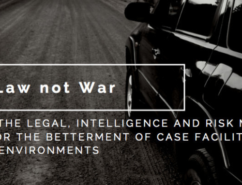 Law Not War – Security Facilitation Services For Legal Sector