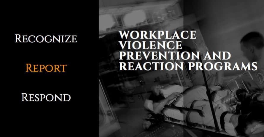 Building a Workplace Violence Prevention & Response Program