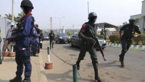 Nigeria MOPOL Armed Security