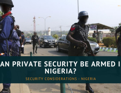 Can Private Security in Nigeria be Armed?